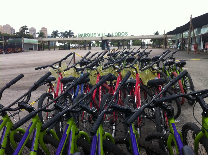 Parque Villa Lobos Aluguel de Bicicletas